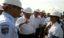 Menhub Budi Karya Sumadi Tinjau Kesiapan Pelabuhan Merak (Foto ist)