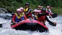 Rafting di Sungai Ciberang, di Kampung Muhara, Desa Ciladaeun, Kecamatan Lebak Gedong kabupaten Lebak Provinsi Banten (Foto:disparbantenprov)