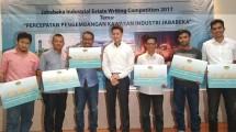Pemenang Jababeka Industrial Estate Writing Competition 2017