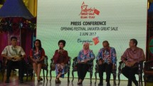 Festival Jakarta Great Sale 2017 resmi dibuka dan berakhir hingga 12 Juli 2017