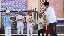 Summarecon Mal Bekasi juga turut berbagi kebahagiaan dengan berbuka puasa bersama 80 anak-anak yatim piatu. (Foto: IST)