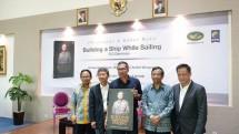 Founder PT Jababeka Tbk Luncurkan Buku Keempatnya berjudul Building A Ship While Sailing