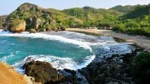 Tempat Wisata Pantai Siung di Gunungkidul (Foto:Istimewa)