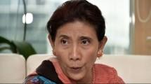 Menteri Kelautan dan Perikanan Susi Pudjiastuti. (Bay Ismoyo/AFP)
