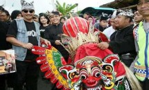 Menpar Arief Yahya promosikan tradisi lebaran Barong Ider di Banyuwang (Foto Ist)