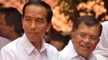 Presiden Joko Widodo dan Wakil Presiden Jusuf Kalla