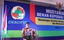 Ketua Umum Dekopin Nurdin Halid