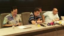 Manajemen Grab Indonesia menggelar konferensi Pers terkait Unjuk Rasa Mitra Grab