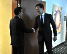 Presiden Jokowi dan PM Belanda Mark Rutte di KTT G20 (Foto Setkab)