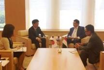 Menperin Airlangga Hartarto Kunjungan Kerja di Jepang (kemenperin)