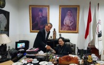 Rachmawati Soekarnoputri dan Diplomat Senior Kedubes Korea Selatan Kim Sang-bum (Foto Ist)