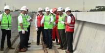 Menhub Budi Karya Sumadi tinjau proyek LRT (Foto Ist)
