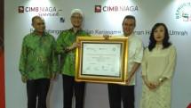 Asphurindo Teken MoU dengan CIMB Niaga Syariah Permudah Layanan Haji dan Umrah, Jumat (14/7/2017)