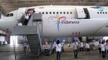 Ilustrasi: Hanggar Maskapai Garuda Indonesia