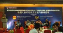 Seminar Kebijakan dan Prosedur Penggunaan Tenaga Asing di Indonesia, Senin (17/7/2017) (Foto by: Fadli Industry.co.id)