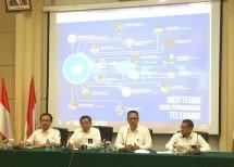 Konferensi Pers Update Telegram, Kementerian Komunikasi dan Informatika
