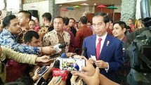 Presiden Jokowi di JCC, Senayan, Jakarta, Rabu (19/7/2017) (Foto Setpres)