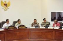 Presiden Jokowi Rapat Terbatas Bahas Infrastruktur Papua (Foto Setkab)