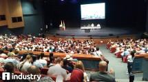 Sekitar 2.000 peneliti hadir di Auditorium Getsemani, Cartagena de Indias Convention Center dalam pembukaan Konferensi IAMCR