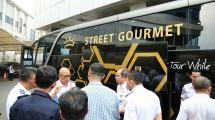 Street Gourmet, adalah Sebuah Bus Pariwisata yang menggabungkan konsep Restoran dan Pariwisata (Ist)