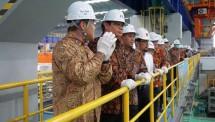 Menperin tinjau pabrik baja krakatau osaka steel (dok-kemenperin)