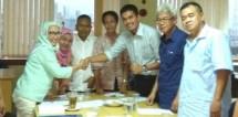 Nandi Nanti Ketua Harian SMSI Jakarta CEO Industry.co.id bersama wartawan Jakarta (Foto Ist)