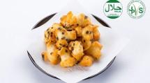 Menu Makanan yang disajikan All Nippon Airways (ANA) Original Halal Okaki' (Japanese Rice Cracker)