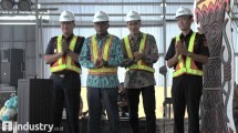 Peresmian beroperainya fasilitas Pusat Logistik Berikat Pertama di Indonesia Timur, Sorong, Papua Barat yang dikelola oleh CKB Logistics