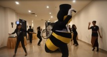 Kejutan Flash Mob di Best Western Premier The Hive (Foto Ist)