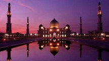 Masjid Agung An-Nur, Pekanbaru, Indonesia (Foto:http://mvslim.com)