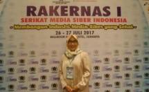 etua Dewan Penasehat Serikat Media Siber Indonesia (SMSI) Provinsi DKI Jakarta, Hj. Endang Werdiningsih (Foto Ist)