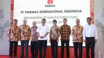 Perusahaan energi lingkungan, PT Thermax International Indonesia meresmikan fasilitas manufaktur barunya di kawasan industri Cilegon, Rabu (26/7/2017)