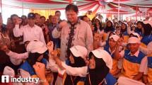 Menteri Perindustrian Airlangga Hartarto luncurkan program pendidikan vokasi industri se-Jawa Tengah dan DI Yogyakarta di Semarang (dok Kemenperin)