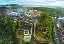 Suasana Kawasan Industri Morowali, Sulawesi Tengah.(Dok. PT IMIP)
