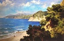 Lukisan Pantai Flores karya Basuki Abdullah (Foto Ist)