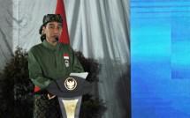 Presiden Jokowi saat membuka Pasanggiri Nasional serta Kejuaraan Nasional Tingkat Remaja Perguruan Pencak Silat Nasional (Persinas) ASAD 2017 (Foto Setkab)