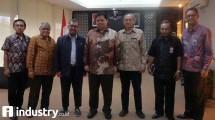 Menteri Perindustrian Airlangga Hartarto Gelar Pertemuan dengan Pusat Mikroelektronika ITB