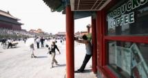 Salahsatu gerai Starbucks di China. (Can Can Chu/Getty Images)