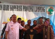 PLUT Lampung Diresmikan dan Siap Jadi House Trading KUMKM (Foto Fadli)