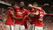 Penyerang anyar Manchester United, Romelu Lukaku, mencetak dua gol saat mengantarkan tim barunya. (Foto: IST)
