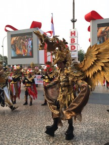 Suasana HUT RI-72 di HBDI Festival, Jakarta