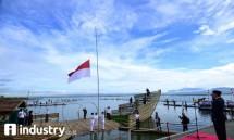 Dirut BTN Maryono Inspektur Upacara HUT RI ke -72 di Gorontalo (Foto Rizki Meirino))