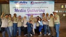 Perum Jamkrindo Gelar Media Gathering Bangun Sinergitas (Foto Anto)