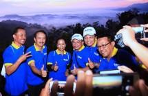 Menteri BUMN Rini Soemarno bersama sejumlah Dirut BUMN (Foto Humas)