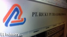 PT Ricky Putra Globalindo Tbk (Hariyanto/ INDUSTRY.co.id)