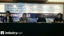 Press conference Pamerindo Electronic, Power & Renewable Energy 2017