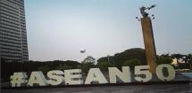 Parade ASEAN 50 Tahun (Foto Ist)