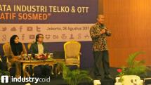 Group Head Corporate Communication Indosat Ooreoodo Tbk Deva Rachman, Agung Yudha, Public Policy Lead Twitter Indonesia, Komisioner BRTI (Badan Regulasi Telekomunikasi Indonesia) Agung Harsoyo
