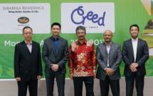 MoU Jababeka- Creed Group, ditandatangani oleh Sutedja S. Darmono, Presiden Direktur PT. Grahabuana Cikarang (Jababeka Grup) dan Toshihiko Muneyoshi, founder dan Managing Director Creed Group (Dok INDUSTRY.co.id)
