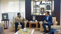 Temui Menteri Airlangga, CEO LG International Bahas Pemanfaatan Gas Pabrik Petrokimia (Foto Ridwan/INDUSTRY.co.id)